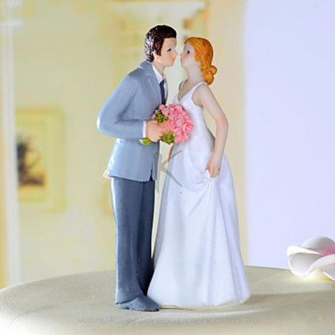 """Sweet Moment"" Resin Wedding Cake Figurine"