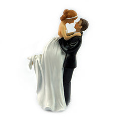 Wholesales New Wedding Cake Toppers Bride and Groom Romance Couple Figurine Cake Toppers Wedding Favors JM0017