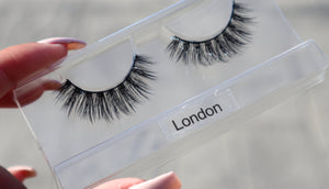 London 3D Faux Mink Silk Lash (4309683929169)