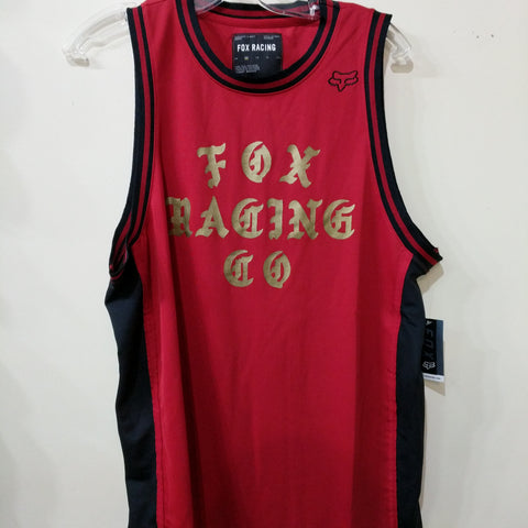 Fox Racing Top Coat Bbal Tank Chili