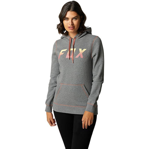 Fox Racing Catalyst Women's Fleece Pullover Heather Graphite