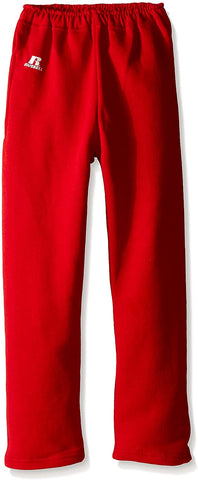 Russell Athletic Dri-Power® Youth Fleece Sweatpants Red