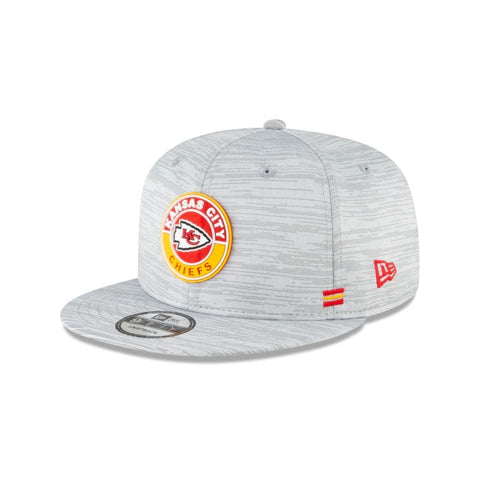 New Era Kansas City Chiefs Official NFL Sideline 9FIfty Snapback Front