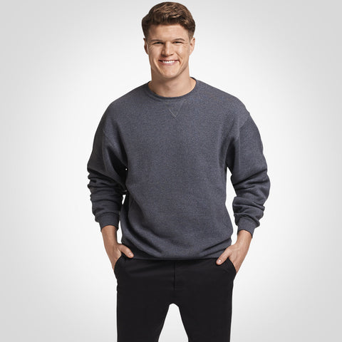 Russell Athletic Dri-Power® Fleece Crew Sweatshirt Black