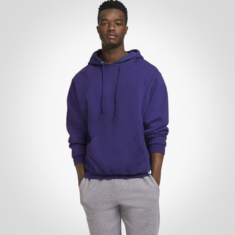 Russell Athletic Men's Dri-Power® Fleece Hoodie Purple