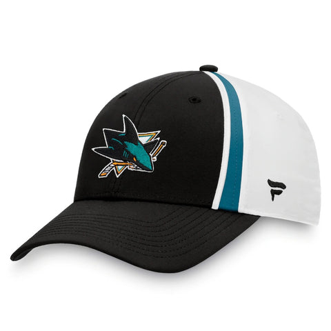 Fanatics San Jose Sharks Prep Squad Cap Black/White