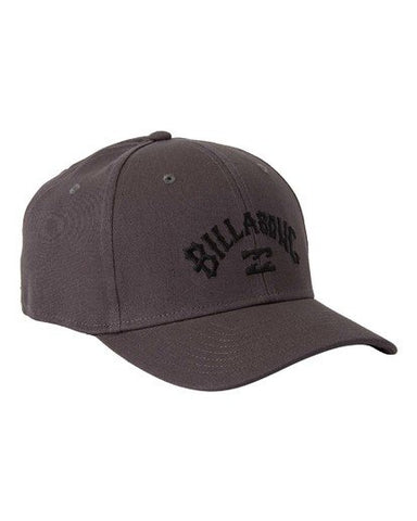 Billabong Arch Stretch Men's Flexfit Cap Dark Grey (DGY)