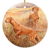 "Vizsla ""Investigators"" Ornament"