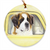 "Saint Bernard ""Anticipation"" Ornament"