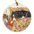 "Bernese Mountain Dog ""Guest Room"" Christmas Ornament"