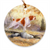 "Brittany ""Grouse Scent"" Christmas Ornament"