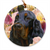 "Gordon Setter ""Grace & Beauty"" Christmas Ornament"