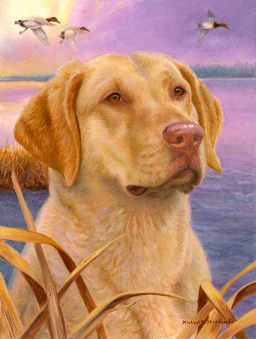 """Dawn Patrol"" A Limited Edition Chesapeake Bay Retriever Print"