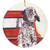 "English Setter ""I'll Wait Here"" Christmas Ornament"