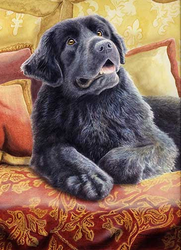 """Mom's Home"" A Limited Edition Newfoundland Print"