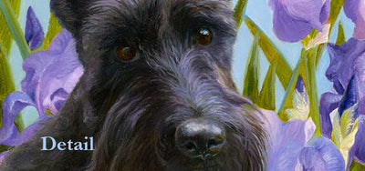 """Harmony"" A Limited Edition Scottish Terrier Print"