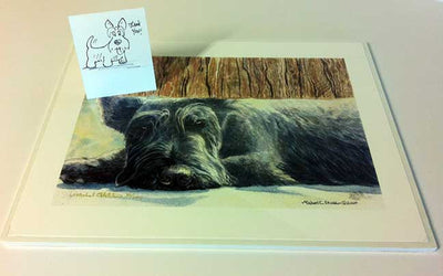 """Scottie Watch"" A Limited Edition Scottish Terrier Print"