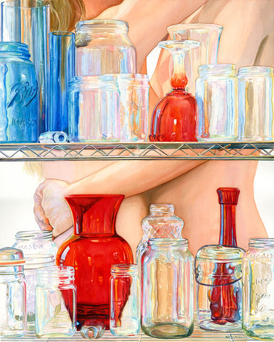 """Transparency"" Original Watercolor"