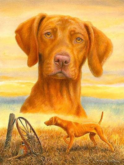 """That's My Vizsla"" A Limited Edition Vizsla Print"