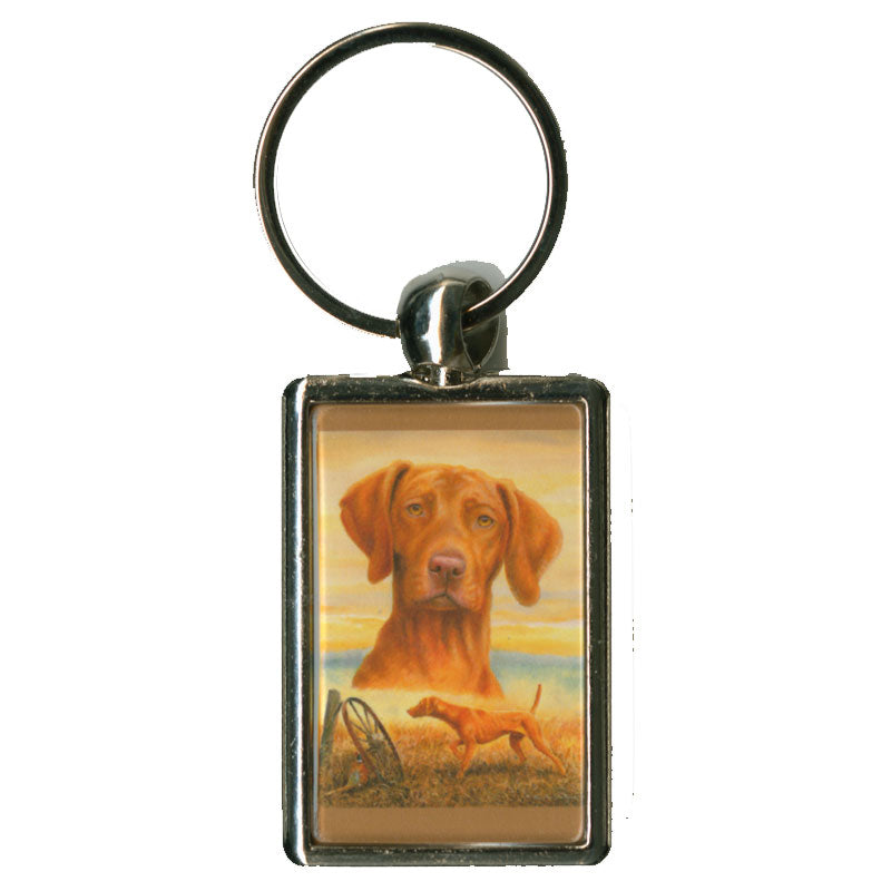 """That's my Vizsla"" Key Chain"