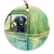 "Flat Coated Retriever ""Excursion"" Christmas Ornament"