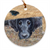 "Flat Coated Retriever ""Get It"" Christmas Ornament"