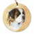 "Saint Bernard ""Head Study III"" Ornament"