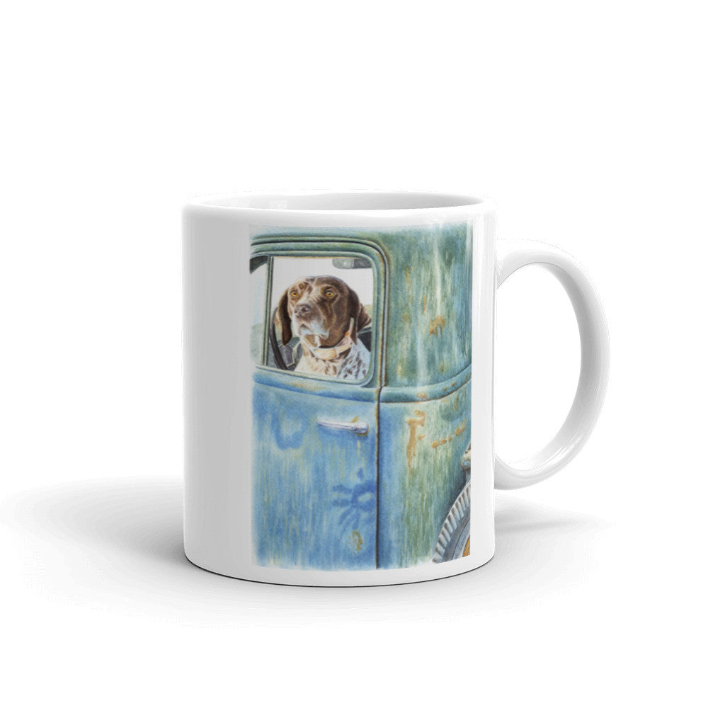 """Ready, Willing & Able"" German Shorthaired Pointer 11oz Coffee Mug"