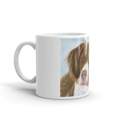 Brittany Watercolor Study, 11oz Coffee Mug