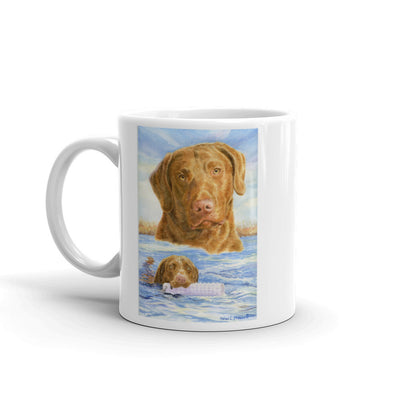 """A Retrieve for You"" Chesapeake Bay Retriever 11oz Coffee Mug"