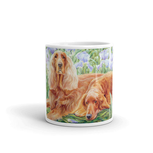 """Iris Setter's Watercolor"" Irish Setter 11oz Coffee Mug"