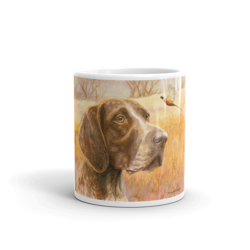 """Fall"" German Shorthaired Pointer 11oz Coffee Mug"