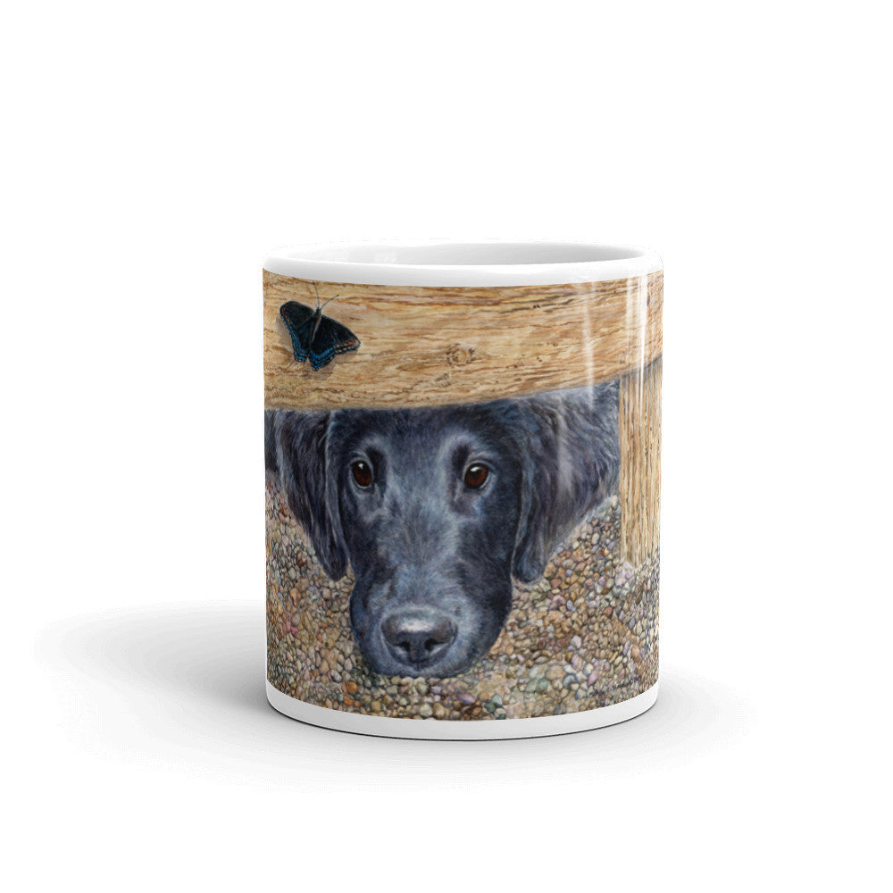 """Get It"" Flat Coated Retriever 11oz Coffee Mug"