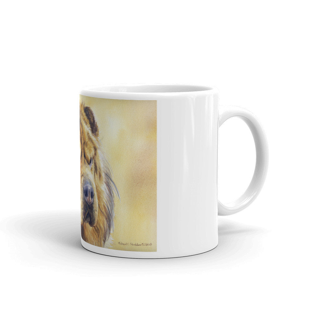 Chinese Shar-Pei Head Study 11oz Coffee Mug