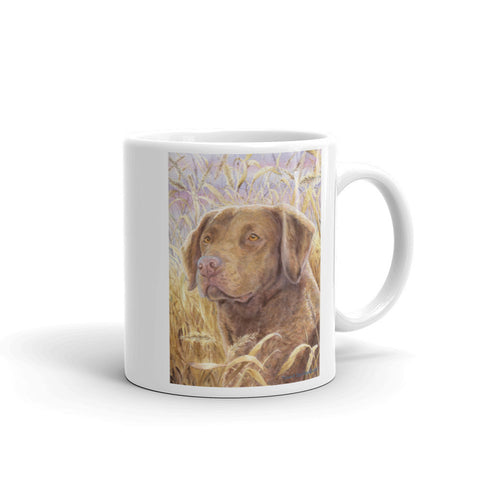 Chesapeake Bay Retriever Head Study IV, 11oz Coffee Mug