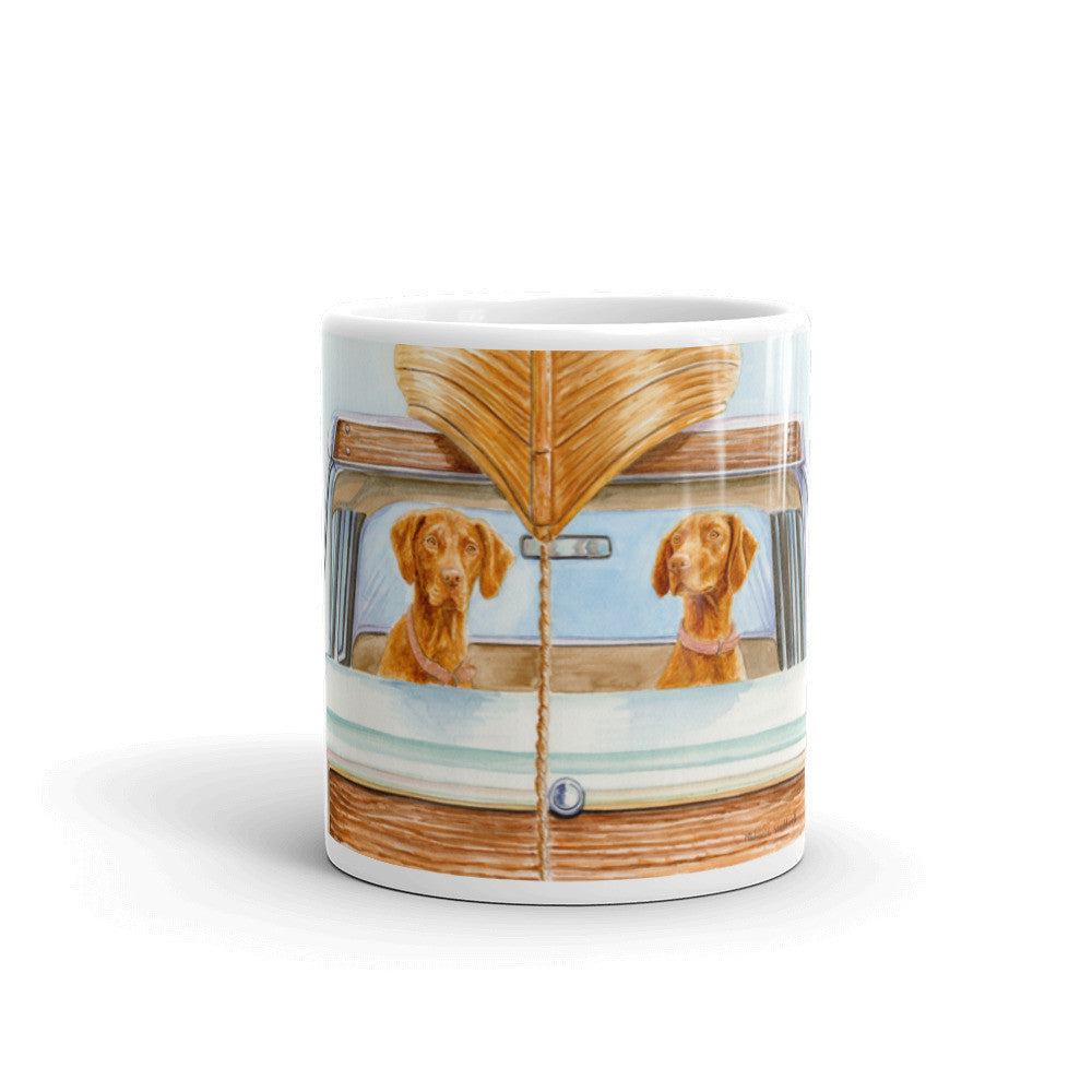"""Field Trip"" 11oz Vizsla Coffee Mug"