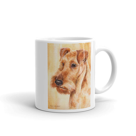 Irish Terrier Head Study Two, 11oz Coffee Mug
