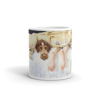 """GWP Feet"" German Wirehaired Pointer 11oz Coffee Mug"