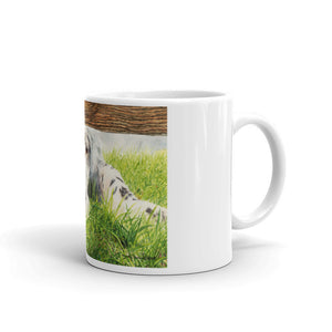 """Missing You"" English Setter 11oz Coffee Mug"