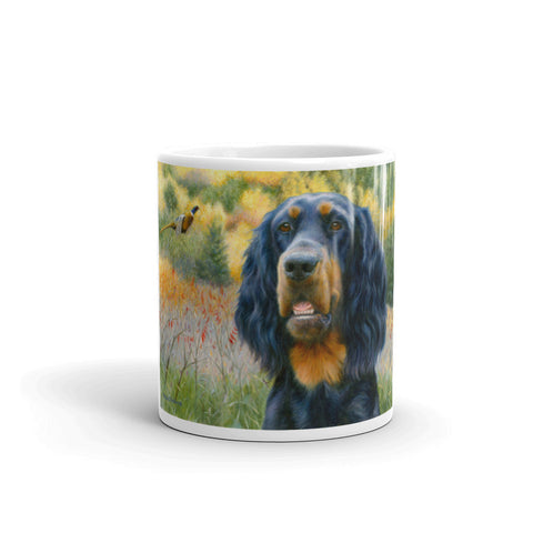 """Exhilaration"" Gordon Setter 11oz Coffee Mug"