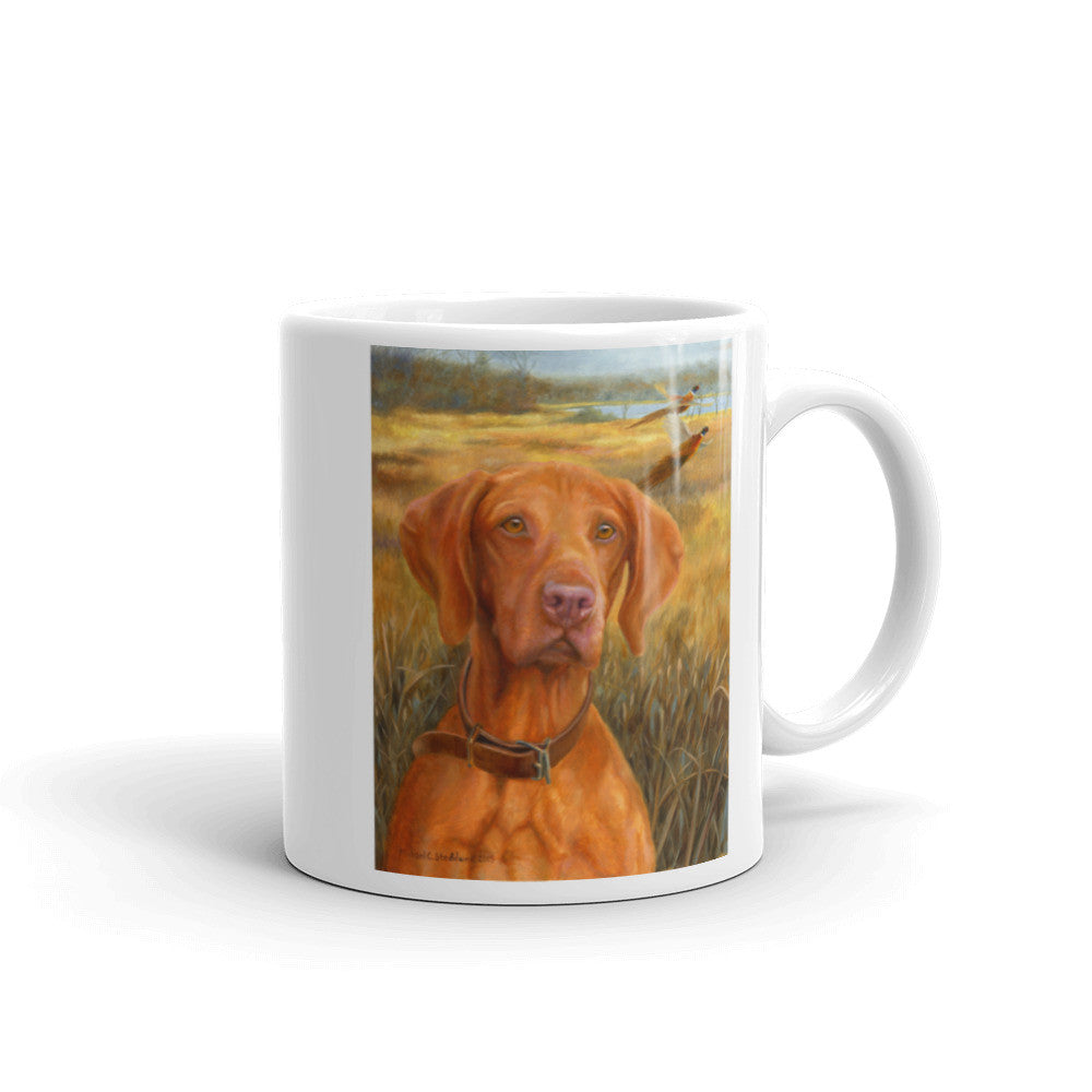 """A Good Season"" Vizsla 11oz Coffee Mug"