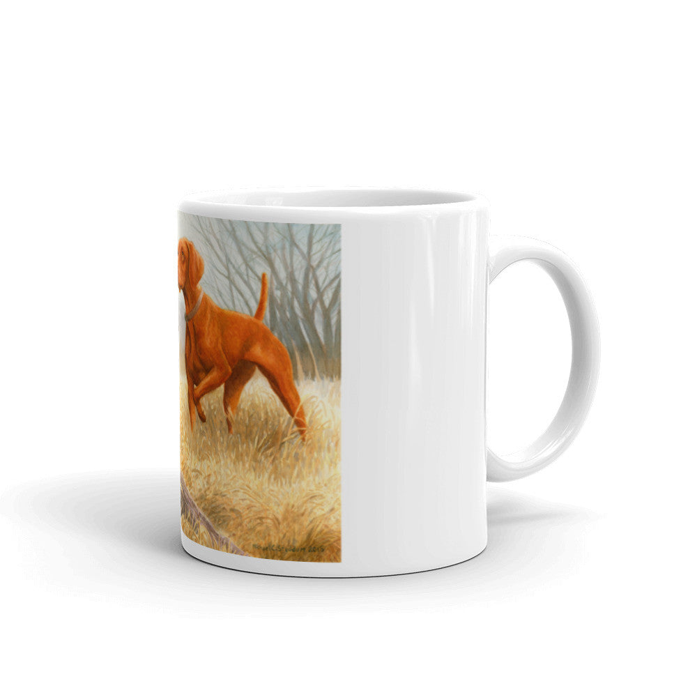 """Bust"" Vizsla 11oz Coffee Mug"
