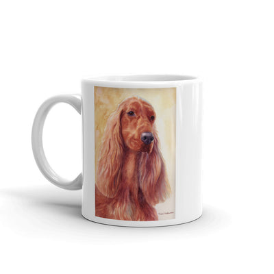 Irish Setter Watercolor Two, 11oz Coffee Mug
