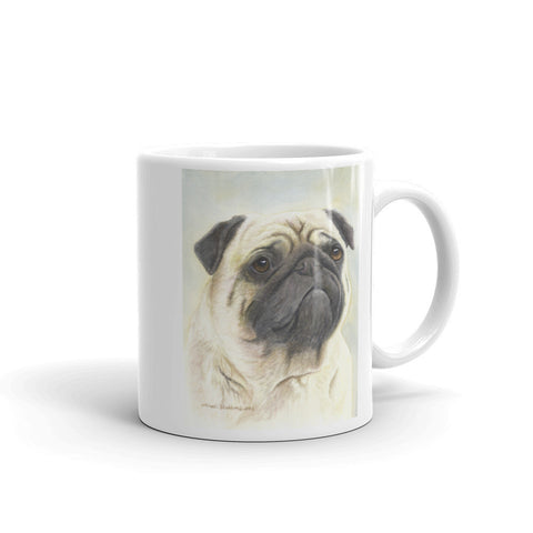 Pug 11oz Coffee Mug