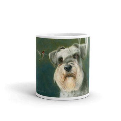 Schnauzer Visitor, 11oz Coffee Mug