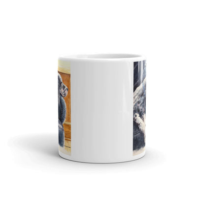 """Couch Potato"" English Setter 11oz Coffee Mug"