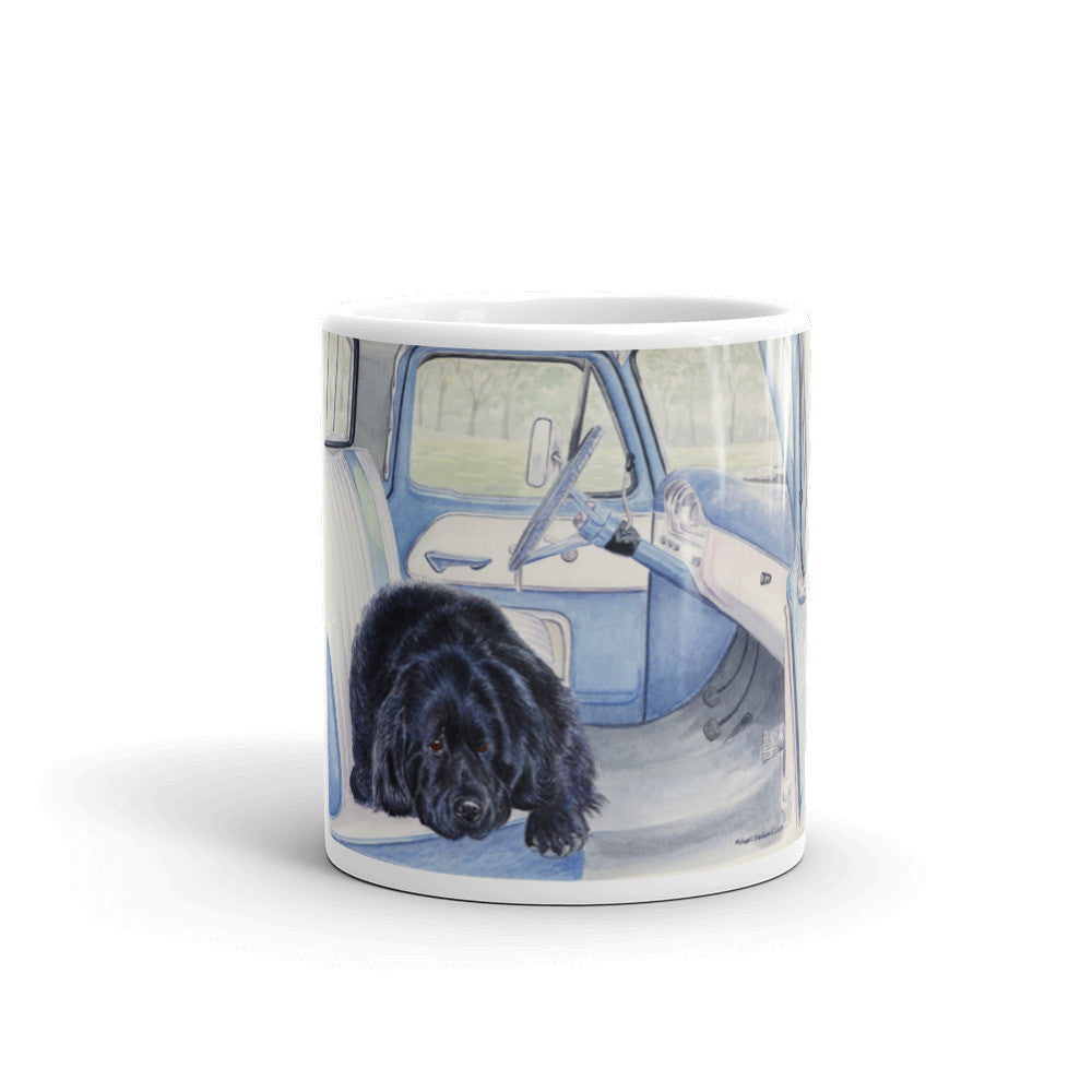 """I Call Shotgun"" Newfoundland 11oz Coffee Mug"