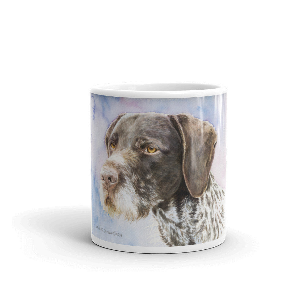 """GWP"" German Wirehaired Pointer 11oz Coffee Mug"