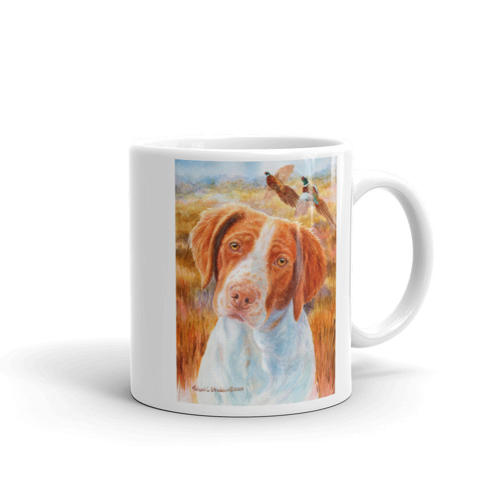Brittany Head Study II, 11oz Coffee Mug