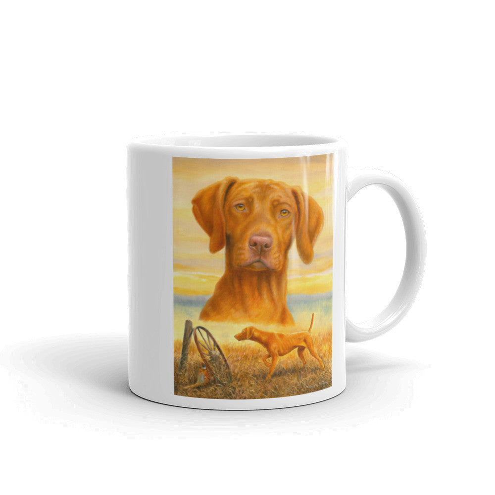 """That's My Vizsla"" Vizsla 11oz Coffee Mug"